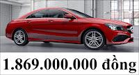 Giá xe Mercedes CLA 250 2018