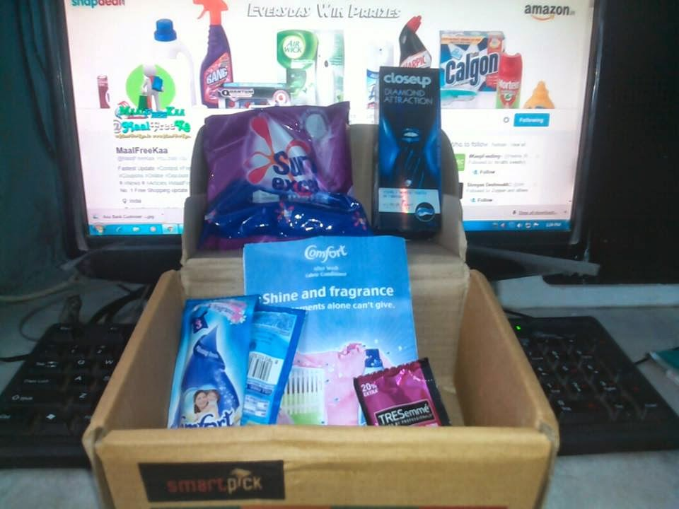 Freebies Received !! Free Sample of Surf Excel, Close up Diamond