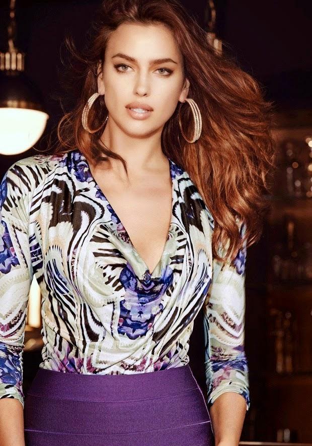 Concierge4fashion The Most Beautiful Girl In The World: Concierge4Fashion: Irina Shayk Stars For The Bebe Fall