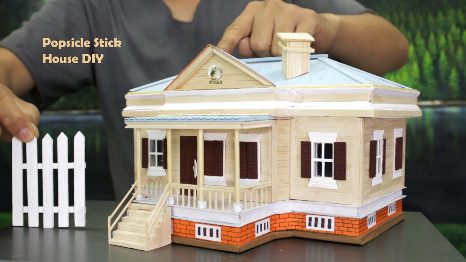 All Plans: 🏡 How to Make Popsicle Stick House 🏡 DIY