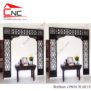 5 mẫu bàn thờ treo tường đẹp mà giá rẻ nhất.
