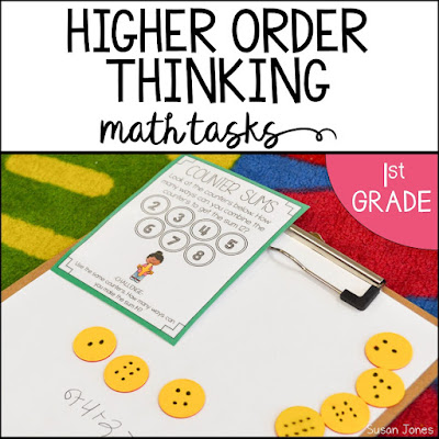 Higher order question stems for math