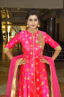 Shamili in Pink Anarkali Dress 12.JPG