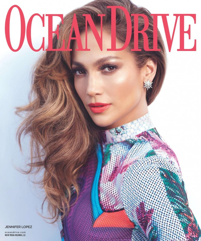 Jennifer Lopez covers Ocean Drive Magazine November 2015