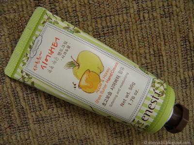 Apple & Honey Shea Butter Hand Cream - Enesti