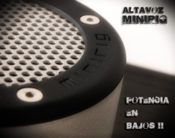 [Review] Altavoces Portátiles MINIRIG