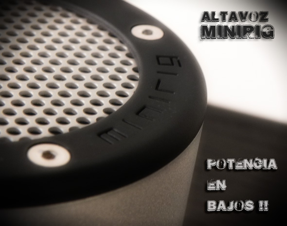 Altavoces Portátiles MINIRIG