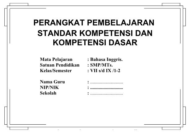 Download Rpp Silabus Bahasa Inggris Smp Kelas 7 8 9 Ktsp Semester 1 Dan 2 Kumpulan Makalah Lengkap