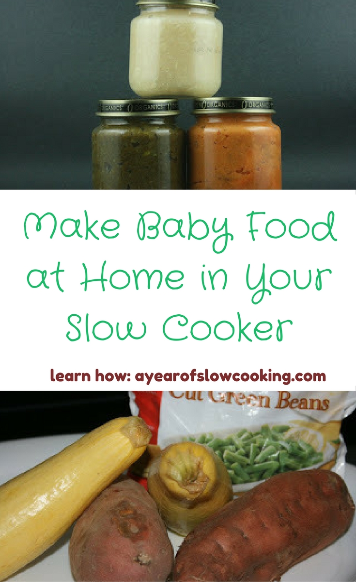 How to make baby food in your crockpot a year of slow cooking day 240 forumfinder Image collections