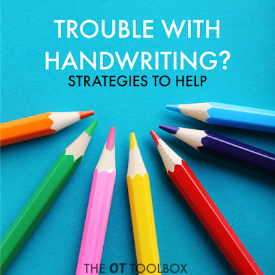 These hands-on activities are helpful for many common handwriting problems that kids struggle with.