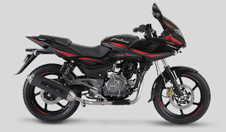 Bajaj Pulsar 220 Laser Black color