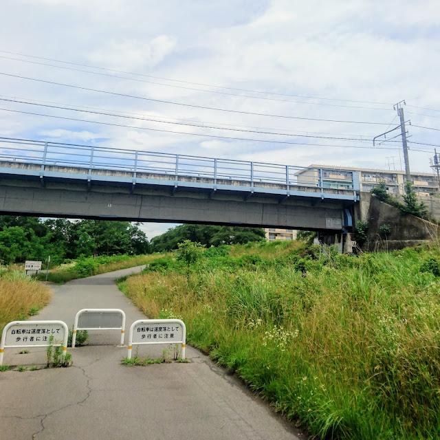 多摩川サイクリングロード 五日市線