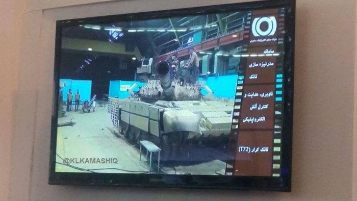 2e0e7fa74fac Below The Turret Ring  Production version of the Karrar MBT unveiled ...