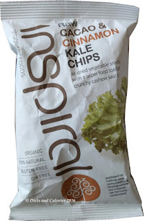 Inspiral cacao & cinnamon Kale Chips