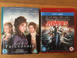 Booky goodness! Love & Friendship and Pride and Prejudice and Zombies