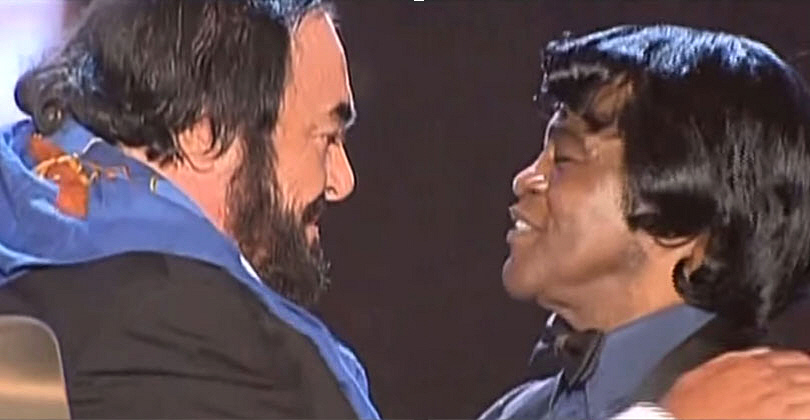 James Brown - Luciano Pavarotti