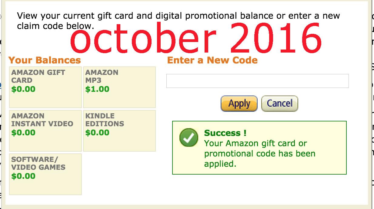 Amazon discount coupons october 2019