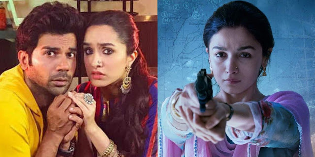 Rajkummar Rao's Stree set to beat Alia Bhatt's Raazi to become fifth highest grosser of 2018