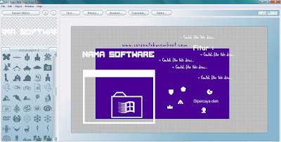 Proses Pembuatan Gambar Promosi Software Sederhana
