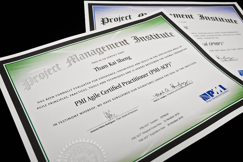 how to get pmi acp certified