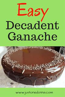 Easy Decadent Ganache