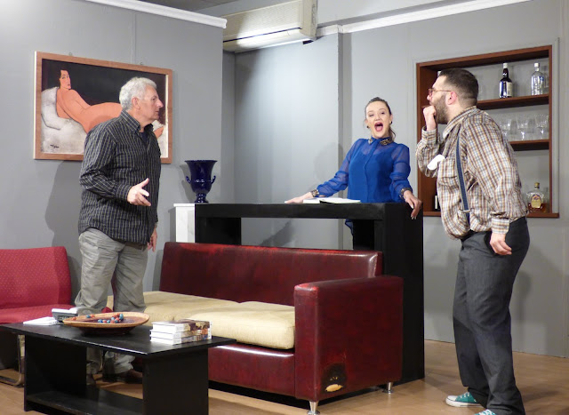 """Αστείρευτο γέλιο στην πρεμιέρα της παράστασης """"Δείπνο Ηλιθίων"""" από την """"Θεατρική Ομάδα του Καββαδία"""""""