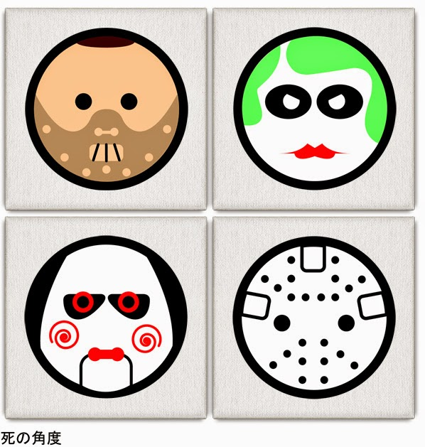 Hannibal Lecter, Joker, Jigsaw y Jason.