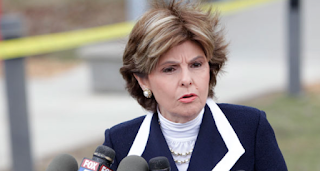 Trump Supporters Protest Outside Gloria Allred's Office after H.B. woman's Claim Of Being Groped