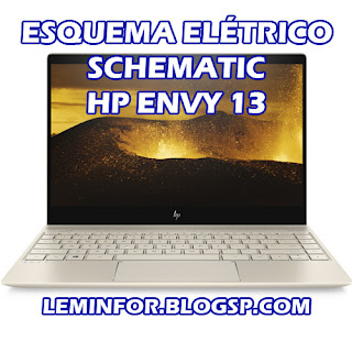 Esquema Elétrico Notebook HP ENVY 13 Service Manual schematic Diagram Notebook HP ENVY 13 Esquema Eléctrico Notebook HP ENVY 13 Manual de servicio