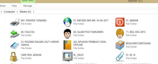 Mengubah Ikon Folder Agar Tampil Lebih Menarik
