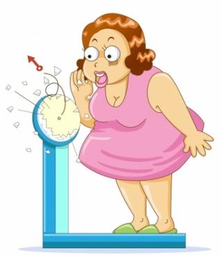 wanita timbang berat badan