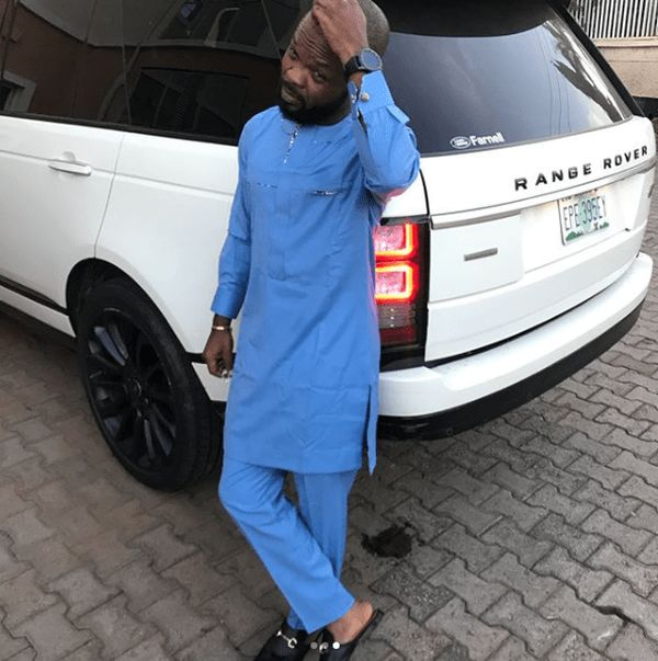 [Photos]Comedian Nedu WazobiaFM Acquires Range Rover Autobiography