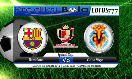 PREDIKSI SKOR Barcelona vs Celta Vigo 12 Januari 2017