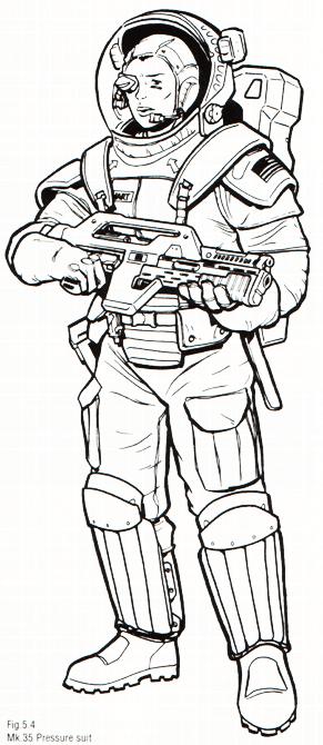 EXONAUTS!: Space Ranger Standard Issue: Equipment