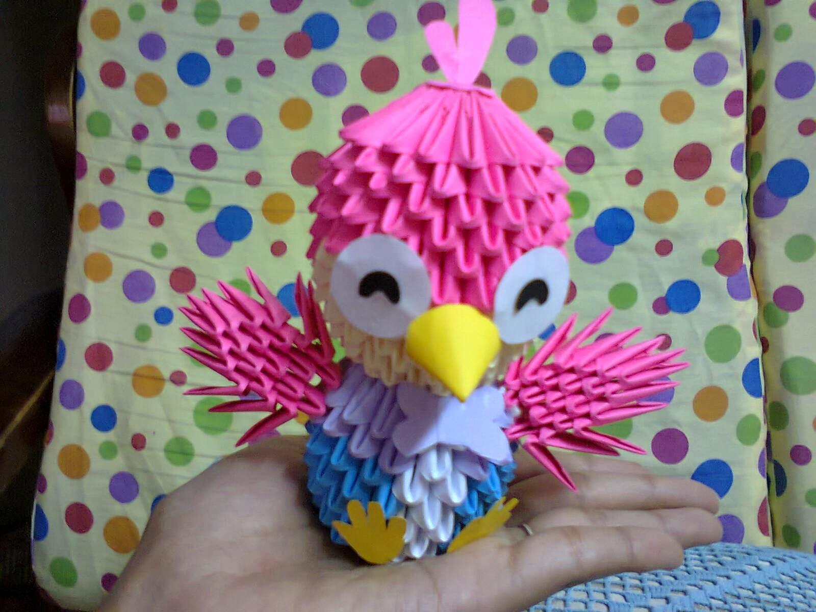 Warna Warni: 3D Origami Harry ~ Pororo The Little Penguin - photo#50