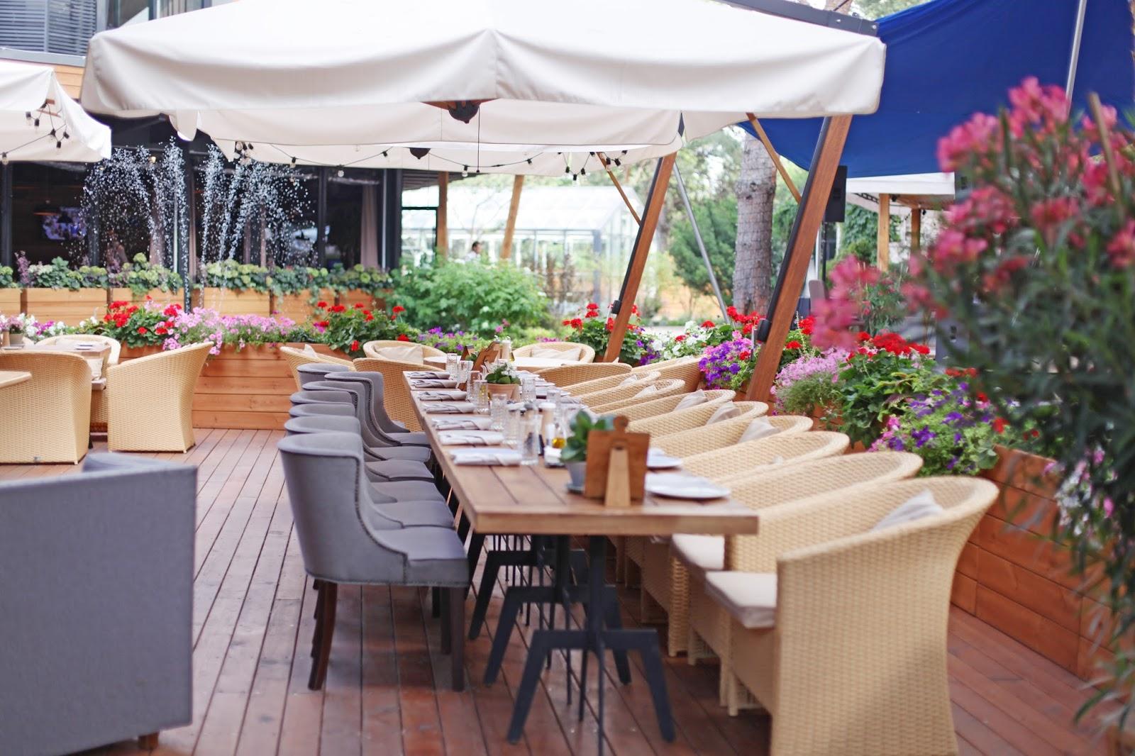 ресторан Fabius, итальянский ресторан, загородный комплекс