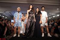 Manjari Phadnis, Meenakshi Dixit, Dipannita Sharma At Designer Nidhi Munim Summer Collection Fashion Week 18th March 2017 (1).JPG