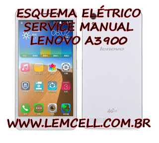 Esquema Elétrico Smartphone Celular Lenovo A3900 Manual de Serviço Service Manual schematic Diagram Cell Phone Smartphone Lenovo A3900