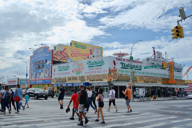 Coney Island, Brooklyn Nathan's Hot Dogs Travel Blog