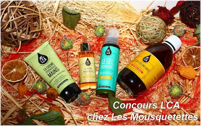 Sélection beauté de l'hiver LCA Laboratoire Combe d'Ase - Aromathérapie - Blog Beauté Les Mousquetettes©