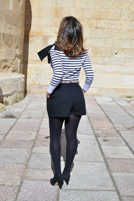 stripes bows glitter fashion blogger