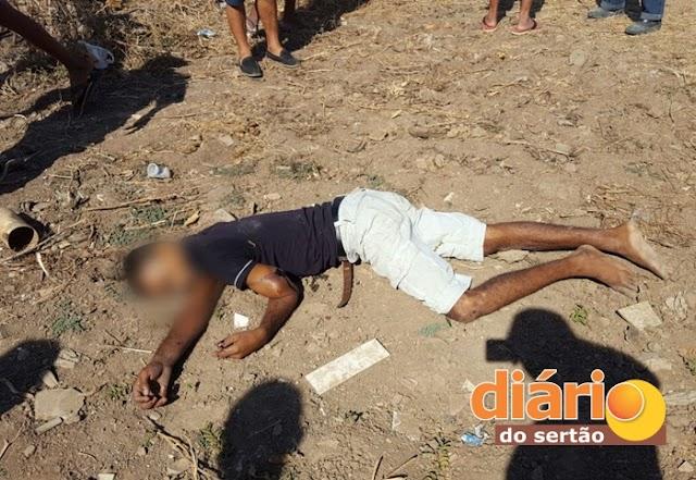 homem é encontrado morto com tiro na cabeça próximo a posto de saúde em Souza-PB