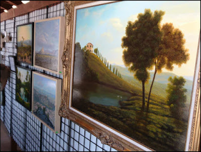 paintings,desert,Joshua tree,ocotillo,Tuscany,Arboretum,ocotilloGallery Wall 02