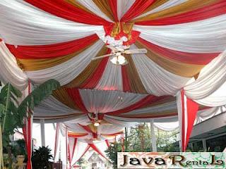 Sewa Tenda Dekorasi - Rental Tenda Dekorasi Jakarta