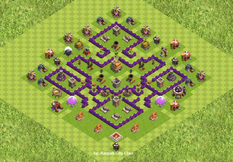 Base Coc Th 7 Anti Serangan Udara 8