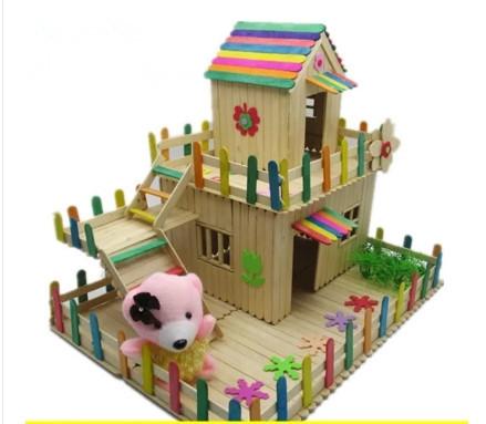 Ide Unik Membuat Rumah Mainan Dari Stik Es Krim   Ragam ...