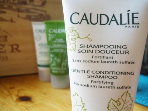 caudalie shampooing soin douceur