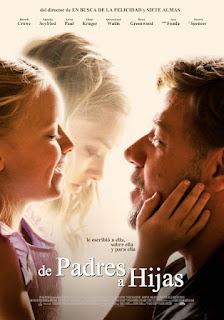 Cartel oficial español: De padres a hijas (2015)
