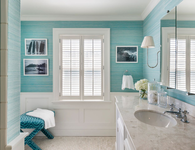 turquoise%2Bbathroom - Bathroom Colour Schemes That Will Always Stay Relevant