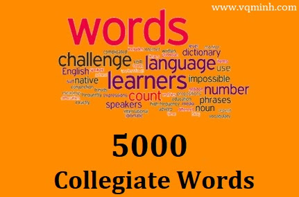 5000 Collegiate Words [Ebook PDF